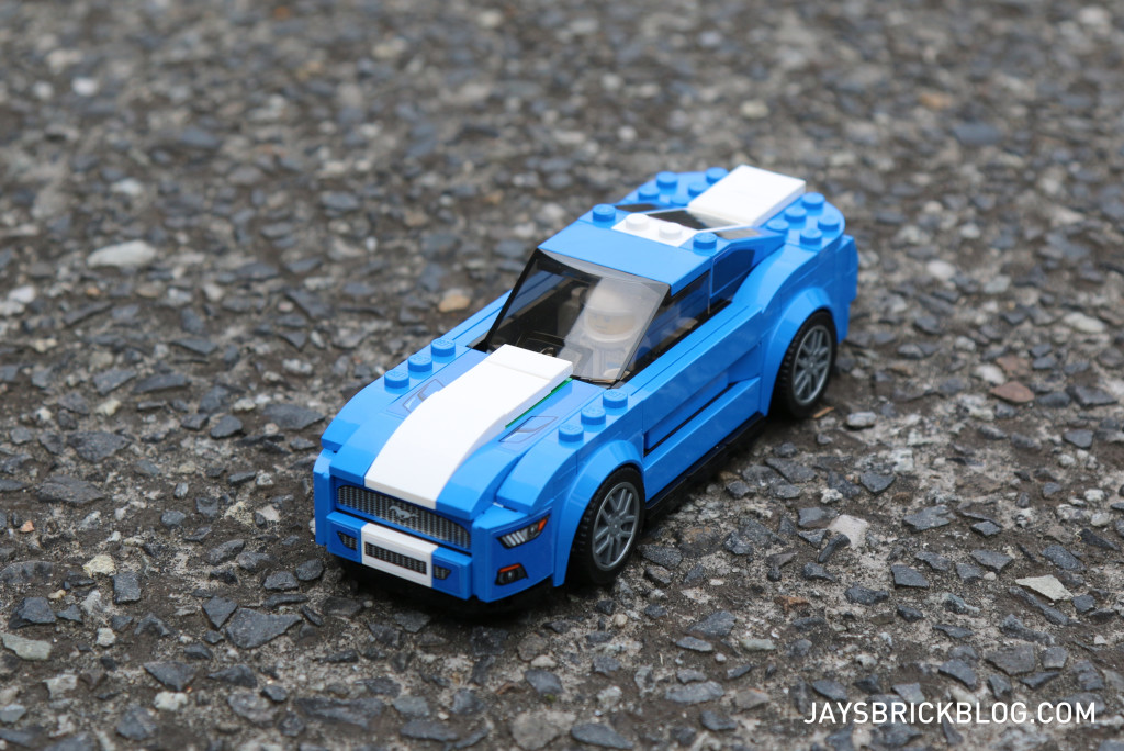 LEGO 75871 Ford Mustang GT - Top View From Front