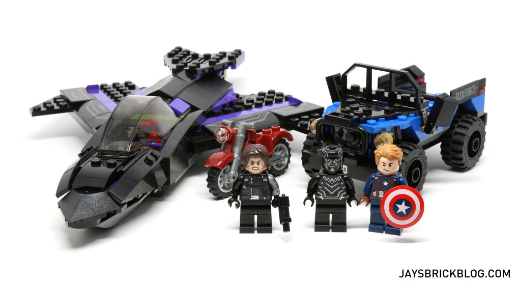 `LEGO 76047 Black Panther Pursuit