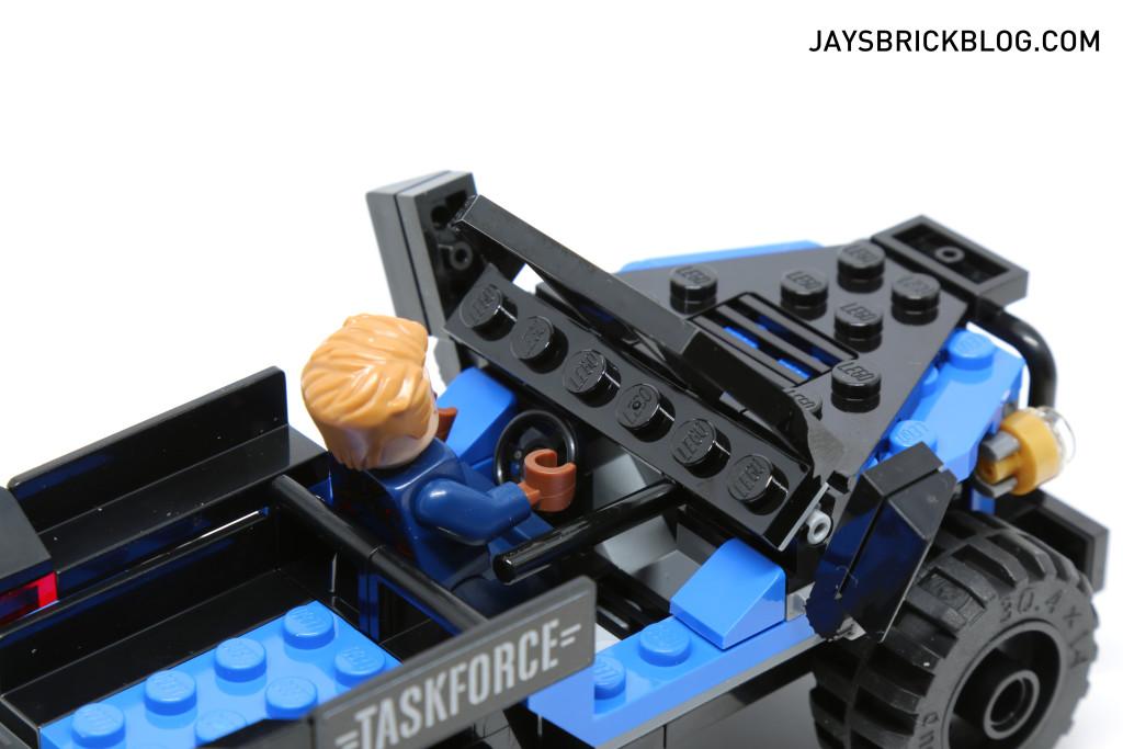`LEGO 76047 Black Panther Pursuit - 4x4 Driver's Seat