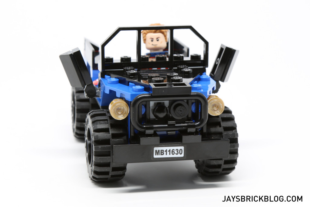 `LEGO 76047 Black Panther Pursuit - 4x4 Front View