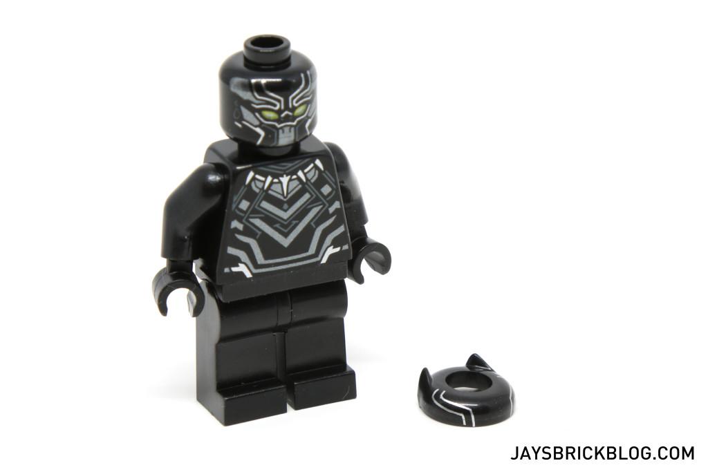 LEGO 76047 Black Panther Pursuit - Black Panther Head Accessory