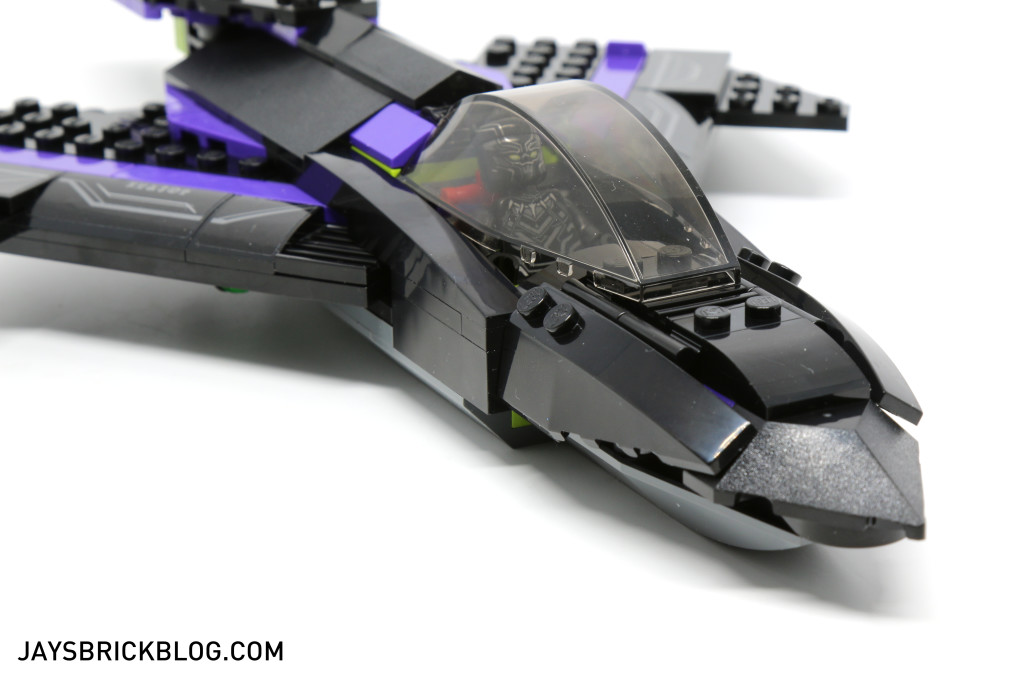 `LEGO 76047 Black Panther Pursuit - Black Panther Jet Nose