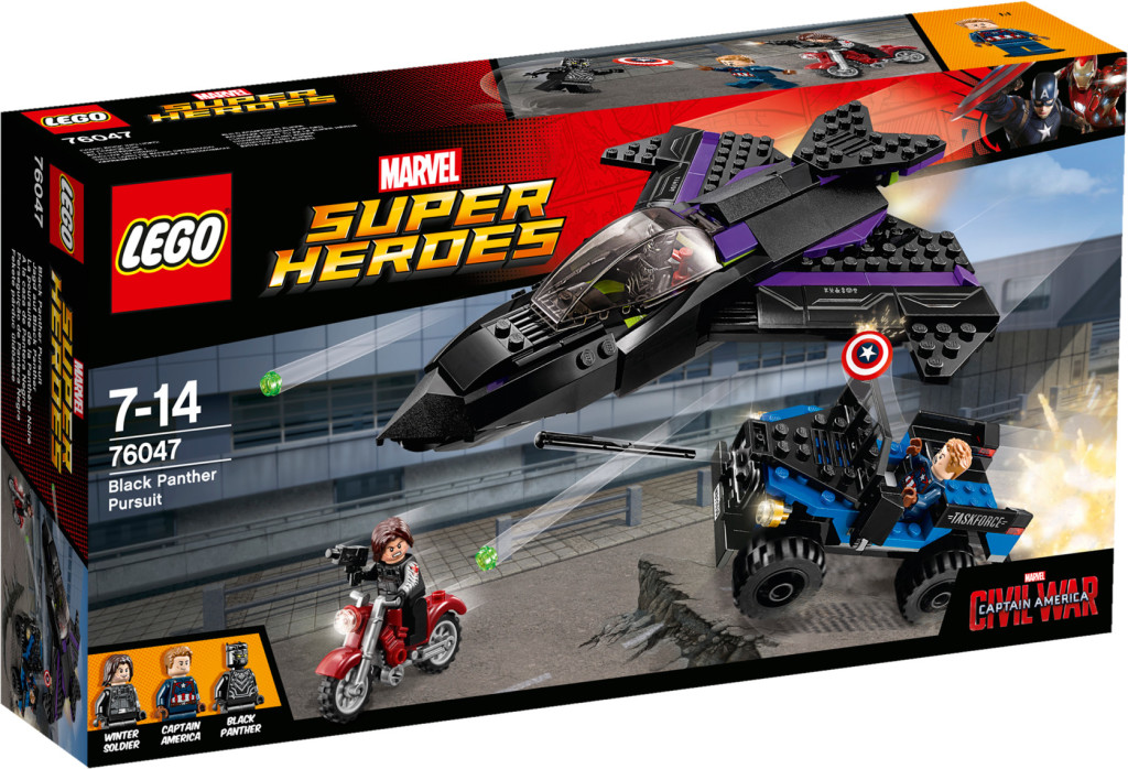 `LEGO 76047 Black Panther Pursuit - Box