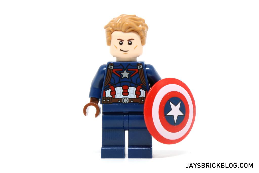 LEGO 76047 Black Panther Pursuit - Captain America Minifigure