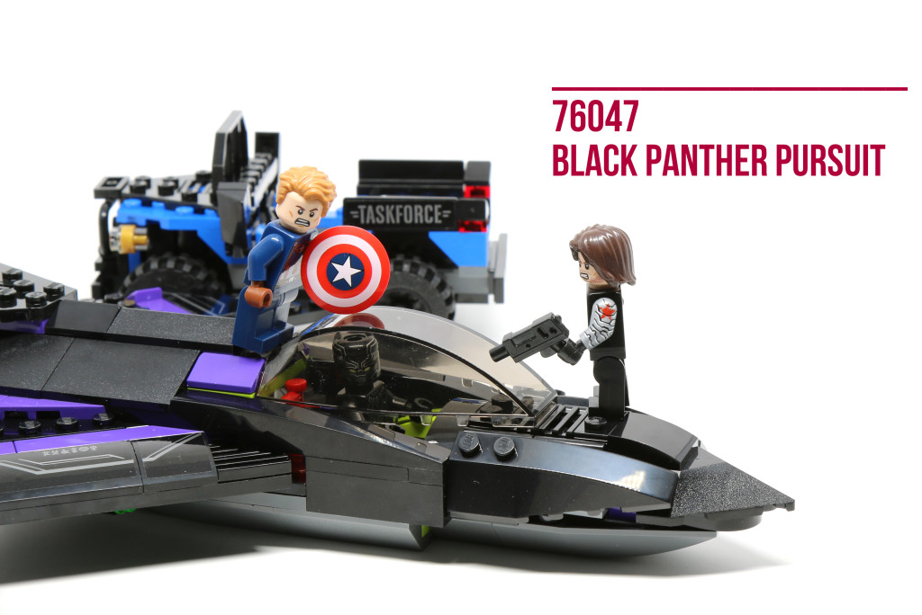 Review: LEGO 76047 Black Panther Pursuit