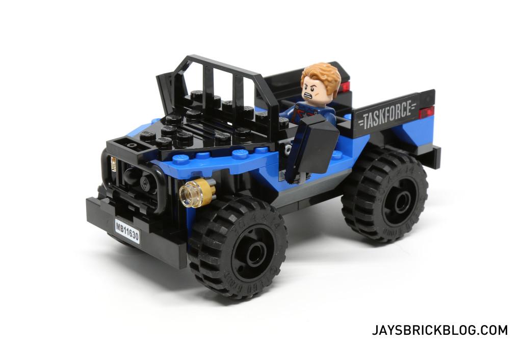 `LEGO 76047 Black Panther Pursuit - Taskforce 4x4