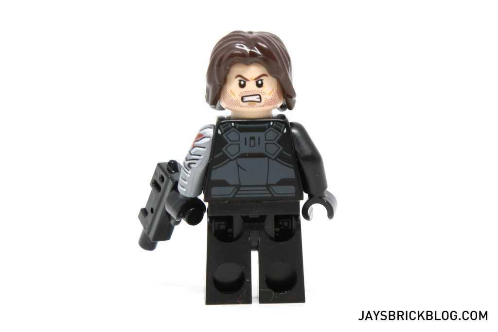 LEGO 76047 Black Panther Pursuit - Winter Soldier Minifig Back