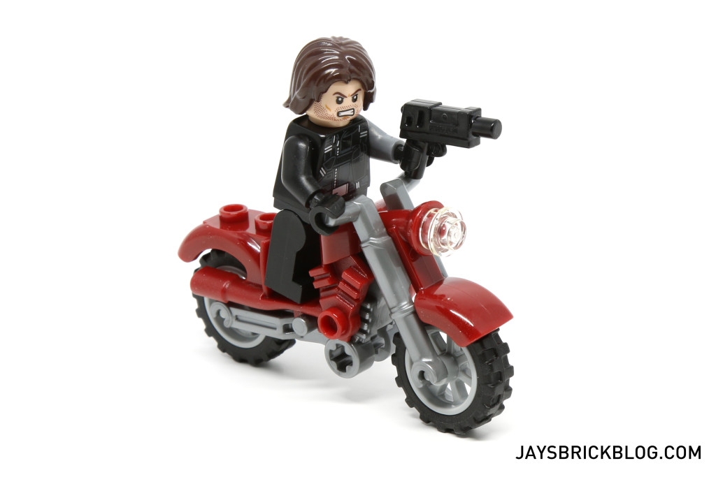 `LEGO 76047 Black Panther Pursuit - Winter Soldier Motorcycle
