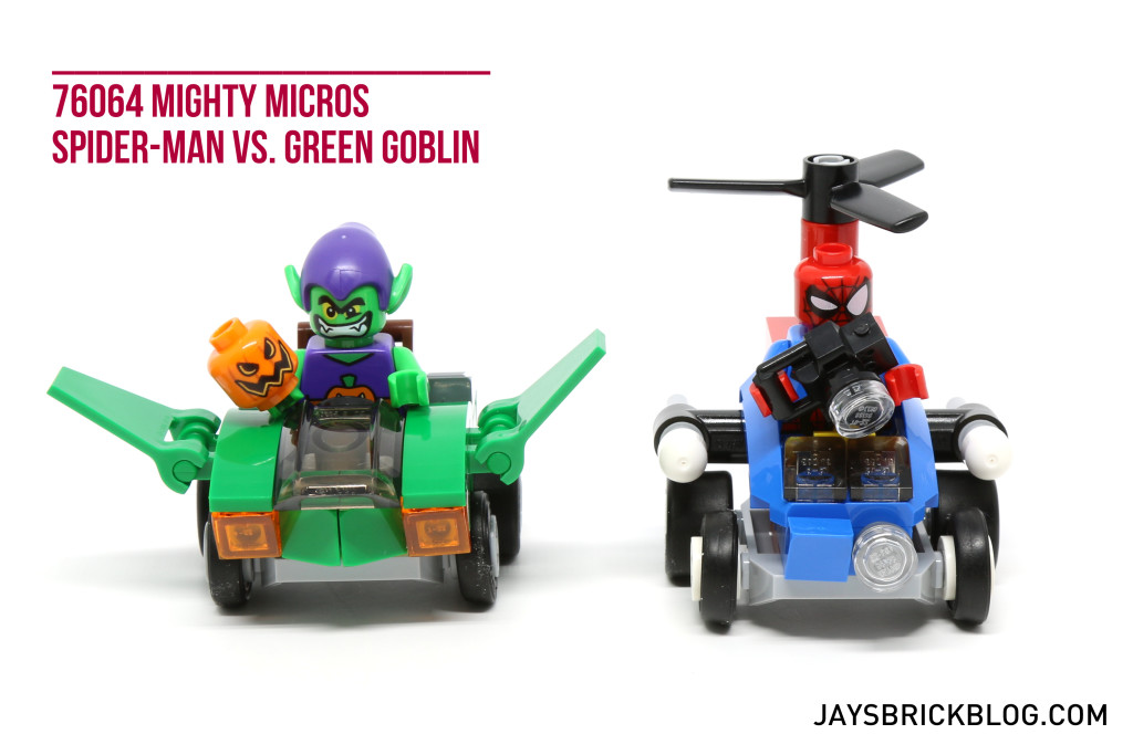 LEGO 76064 Spider-Man vs. Green Goblin