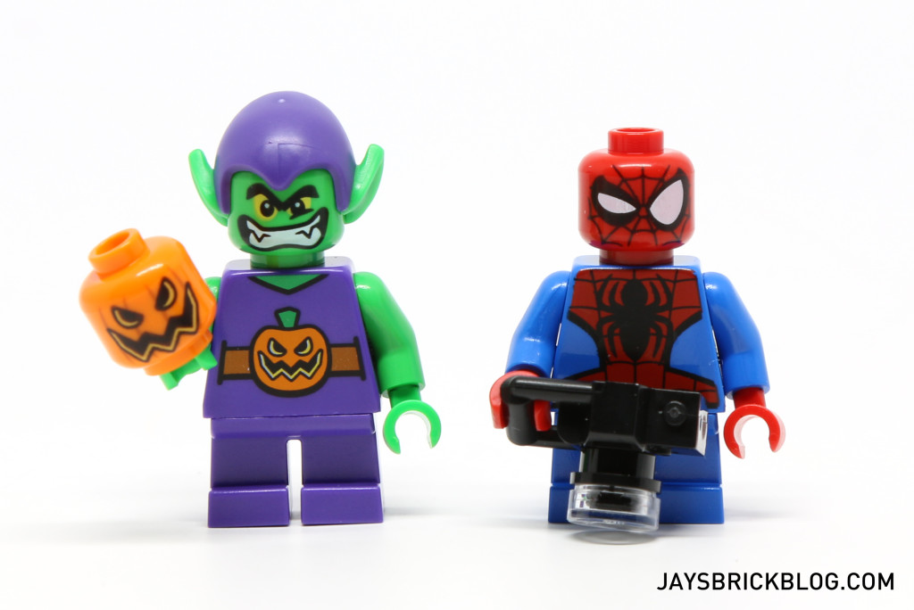 LEGO 76064 Spider-Man vs. Green Goblin - Minifigures