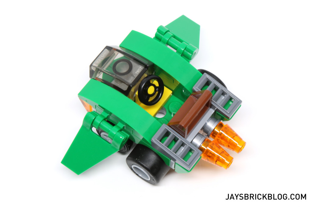 LEGO 76064 Spider-Man vs. Green Goblin - Seating