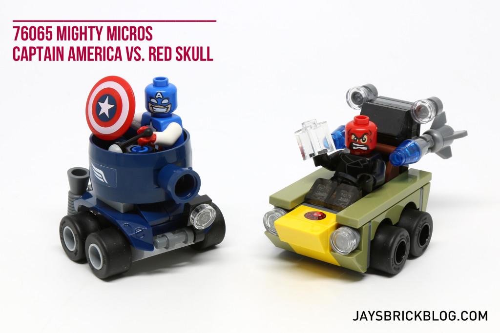 LEGO Mighty Micros Captain America vs Red Skull