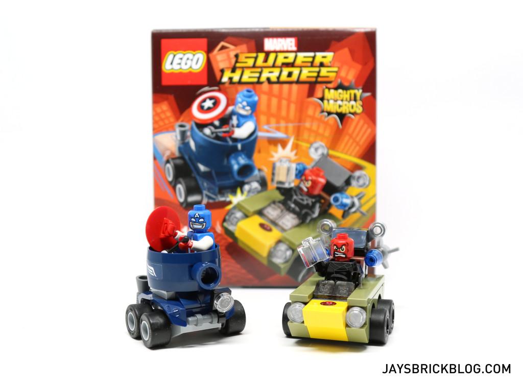 Mighty Micros Captain America vs Red Skull