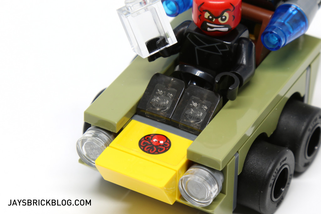 LEGO 76065 Captain America vs Red Skull - Hydra Sticker