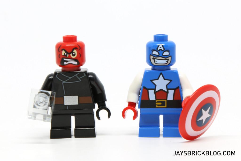 LEGO 76065 Captain America vs Red Skull - Minifigures
