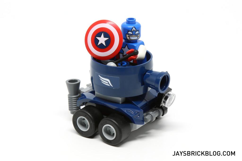 LEGO 76065 Captain America vs Red Skull - Tank