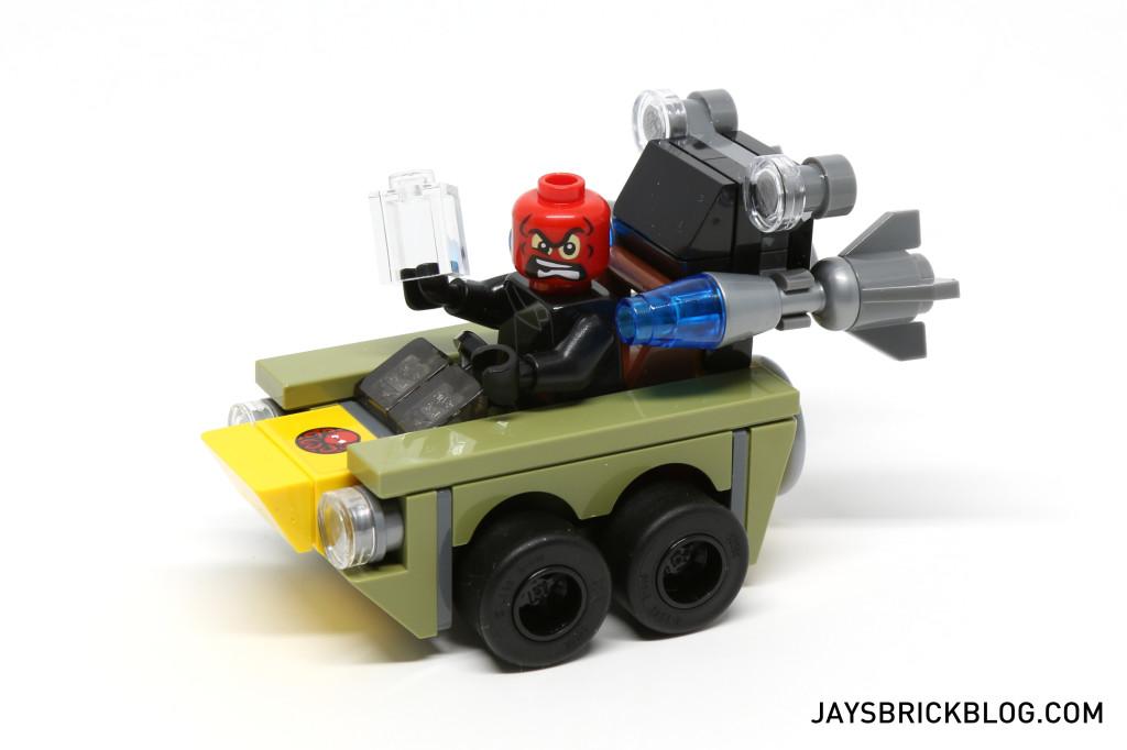 LEGO 76065 Captain America vs Red Skull - Vehicle