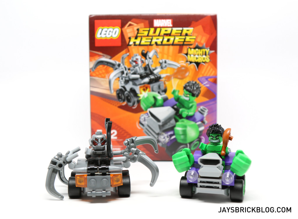 Mighty Micros Hulk vs Ultron