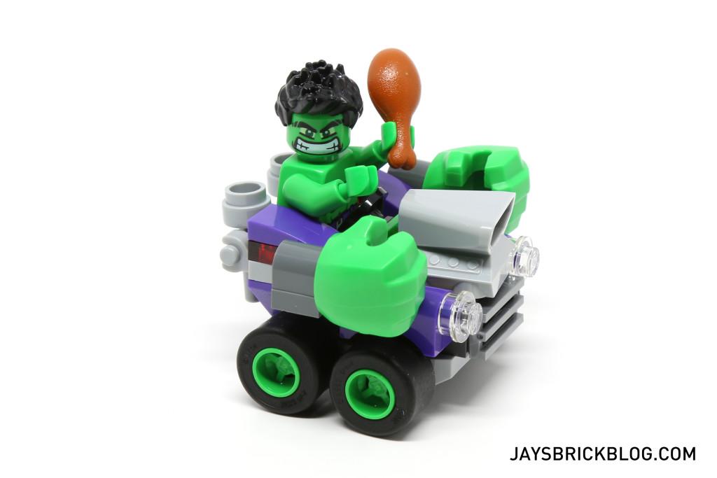 LEGO 76066 Hulk vs. Ultron - Hulk Green Machine