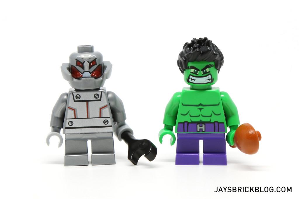 LEGO 76066 Hulk vs. Ultron - Minifigures