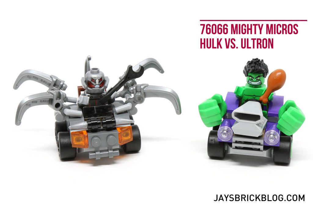LEGO 76066 Mighty Micros Hulk vs. Ultron
