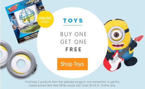 LEGO Big W Buy One Get One Free