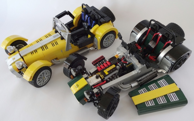 LEGO Caterham Super Seven Engine