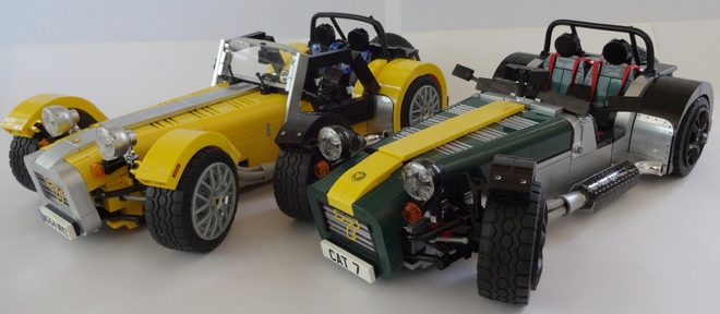 LEGO Caterham Super Seven Ideas Submission