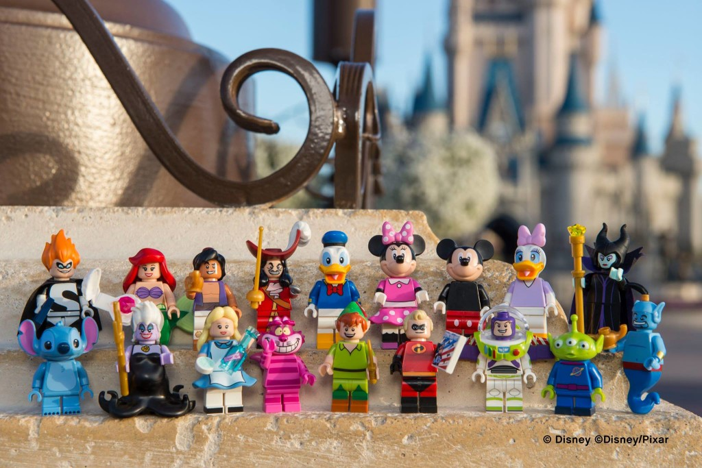 Official reveal of the LEGO Disney Minifigures