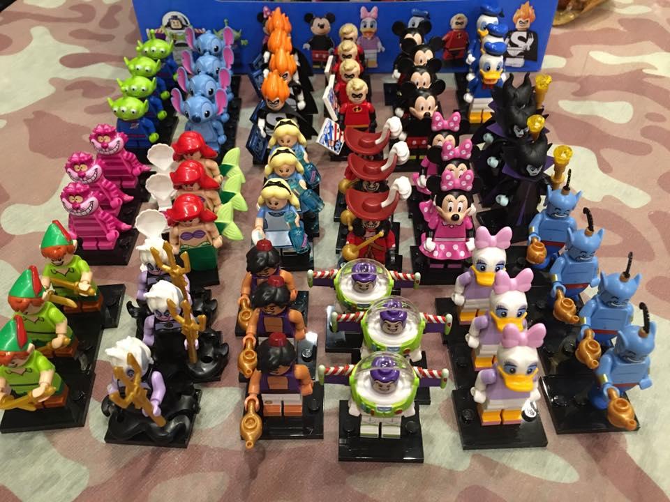 Genuine LEGO Minifigures Le Cheshire Cat de Disney Série