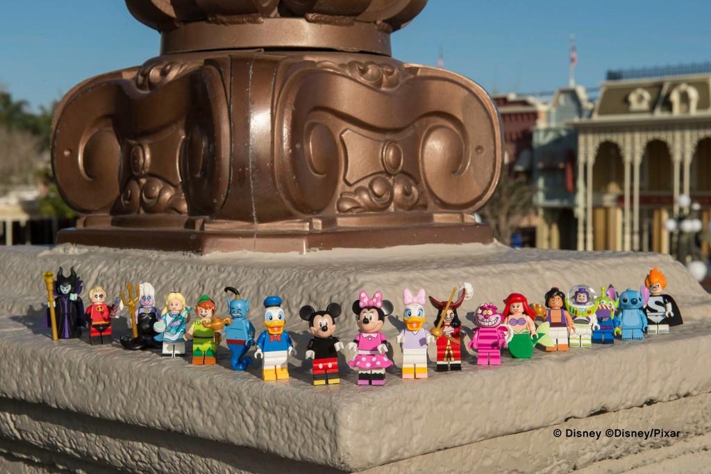 LEGO Disney Minifigures Lineup