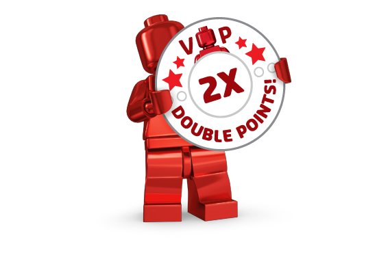 LEGO Double VIP Points
