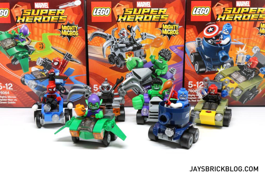 LEGO Marvel Mighty Micros