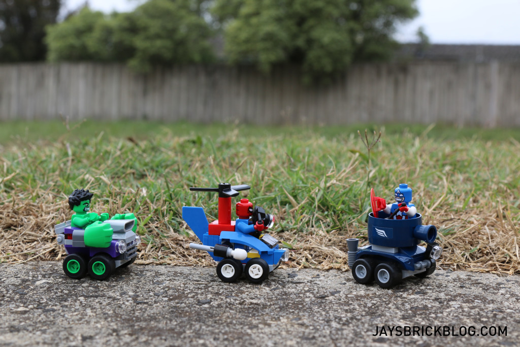 LEGO Mighty Micros Photography