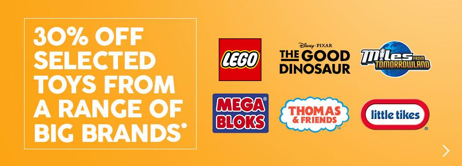 Target 30% off LEGO