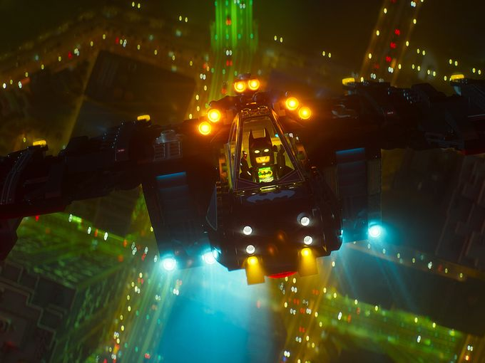 The LEGO Batman Movie - Batcopter