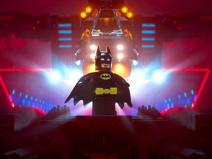 The LEGO Batman Movie - Batman on Stage