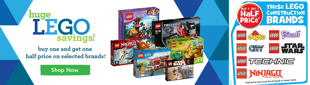 Toys R Us Buy One Get 50% Off March 2016