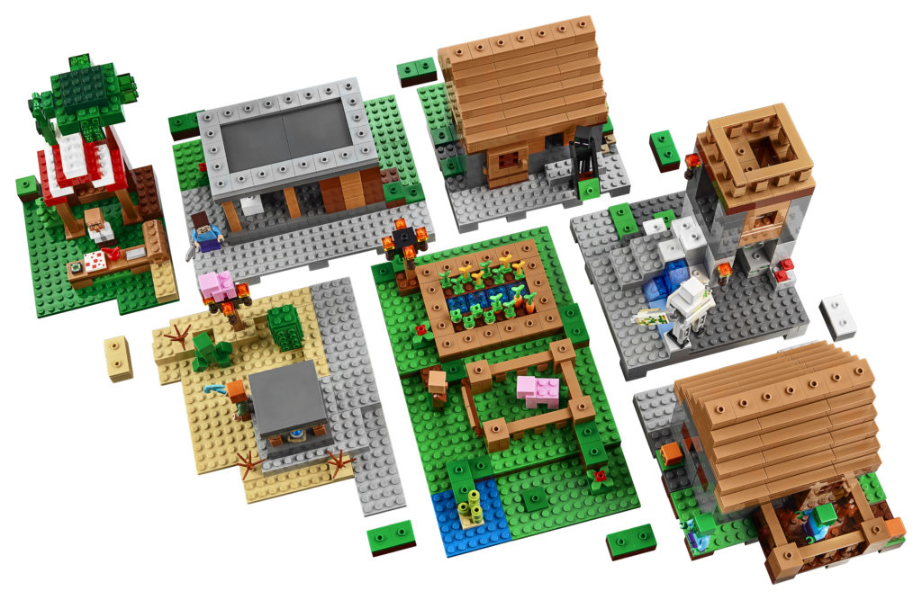 LEGO 21128 Minecraft The Village - Aerial View