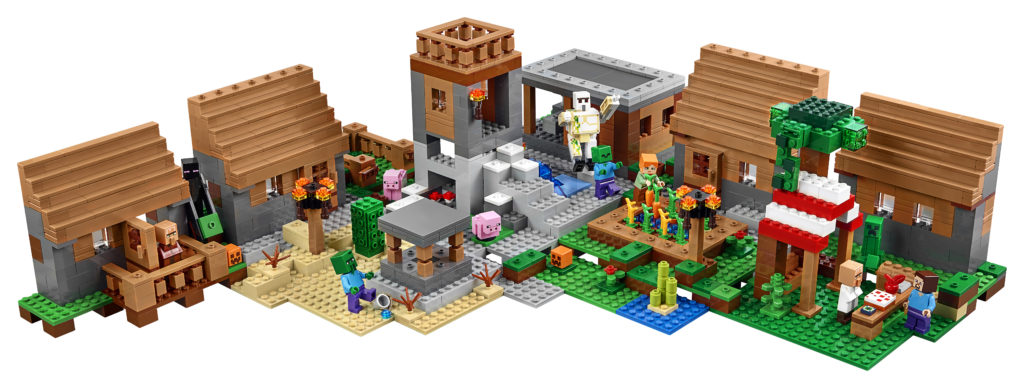 LEGO 21128 Minecraft The Village - Alternate Layout