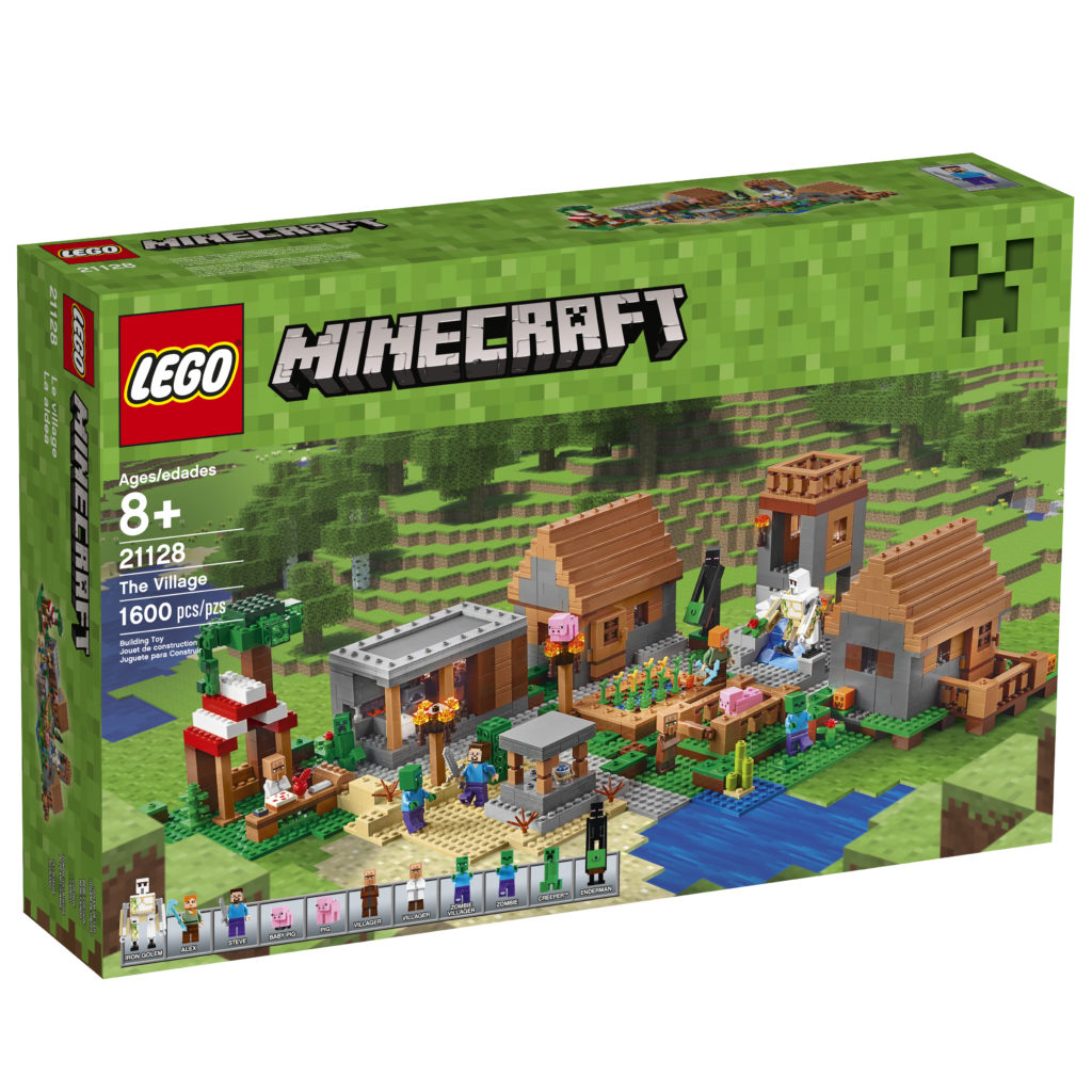 LEGO 21128 Minecraft The Village - Box