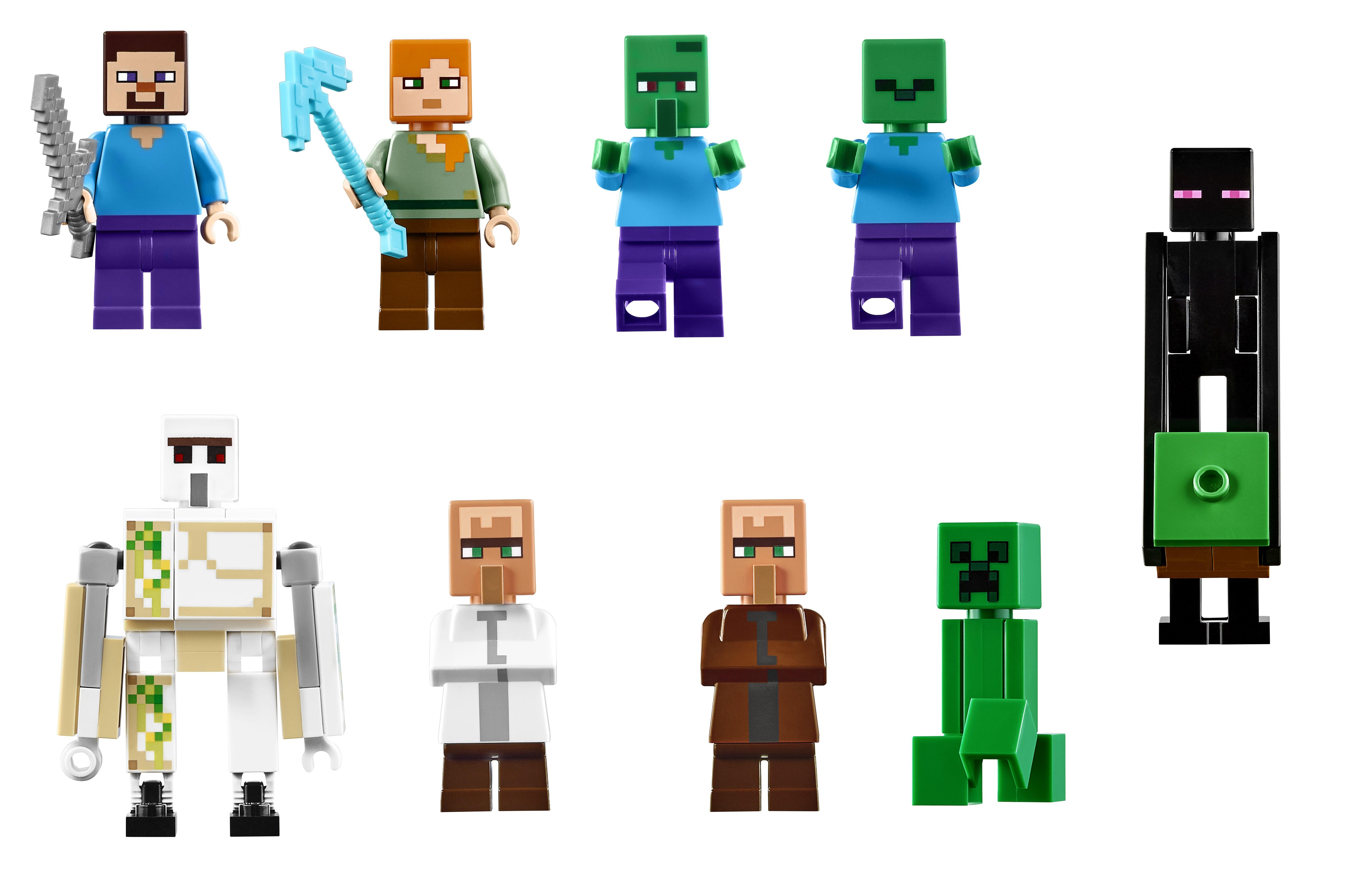 Lego Announces 21128 The Village The Largest Minecraft