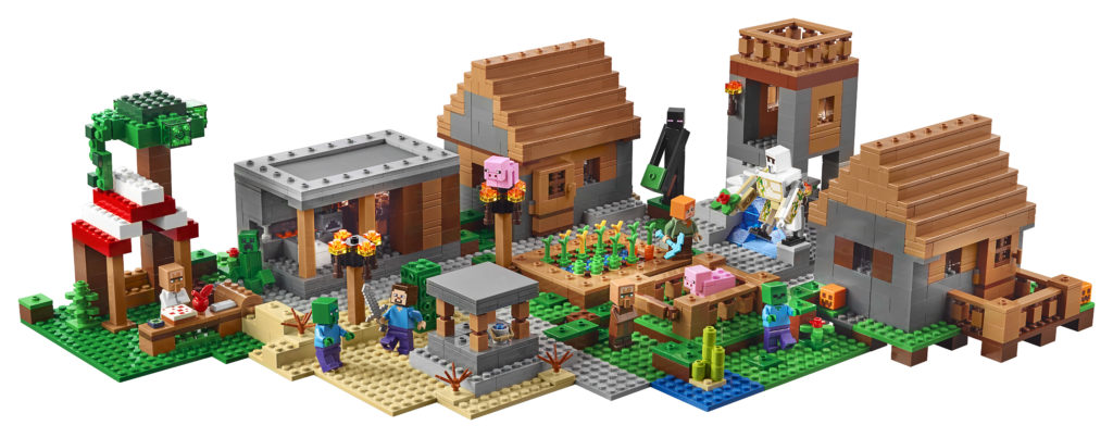 LEGO announces 21128 The Village, the largest Minecraft set yet!