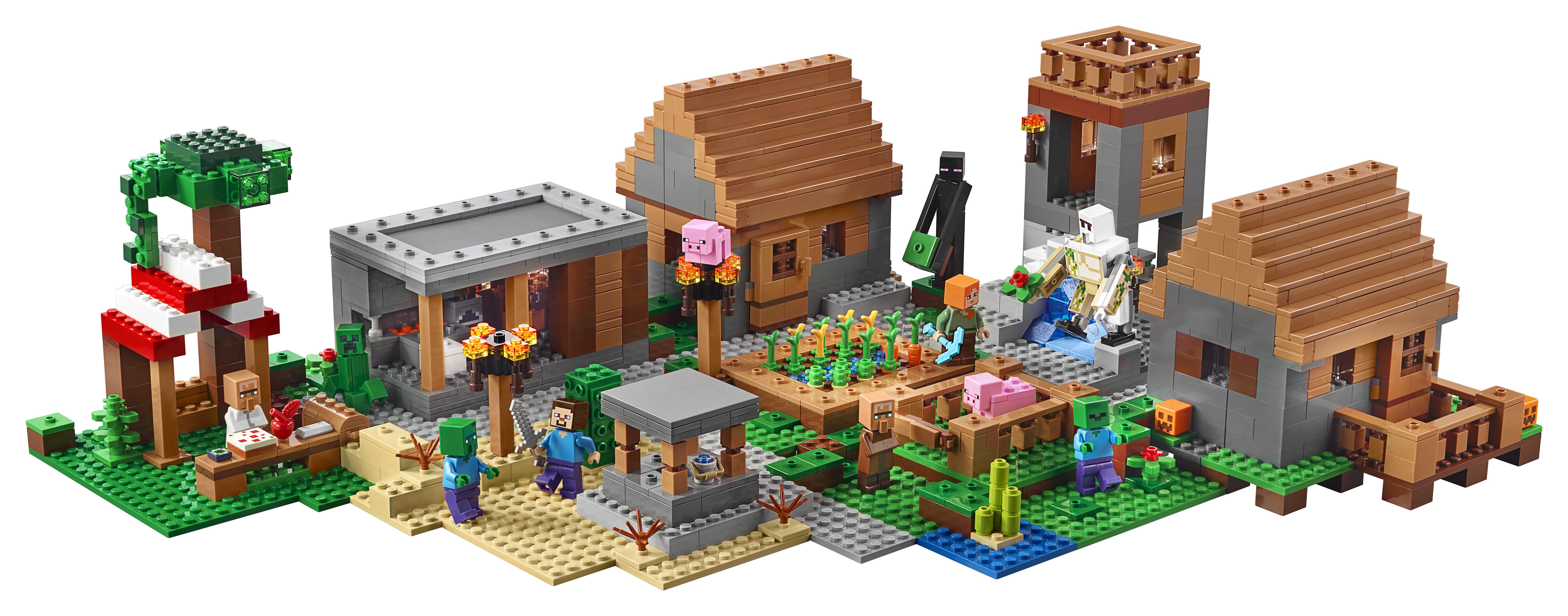 LEGO announces 21128 The Village, the largest Minecraft set