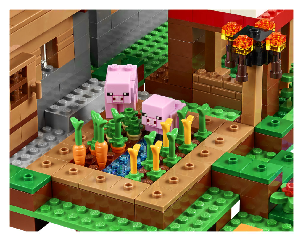 LEGO 21128 Minecraft The Village - Veggie Patch