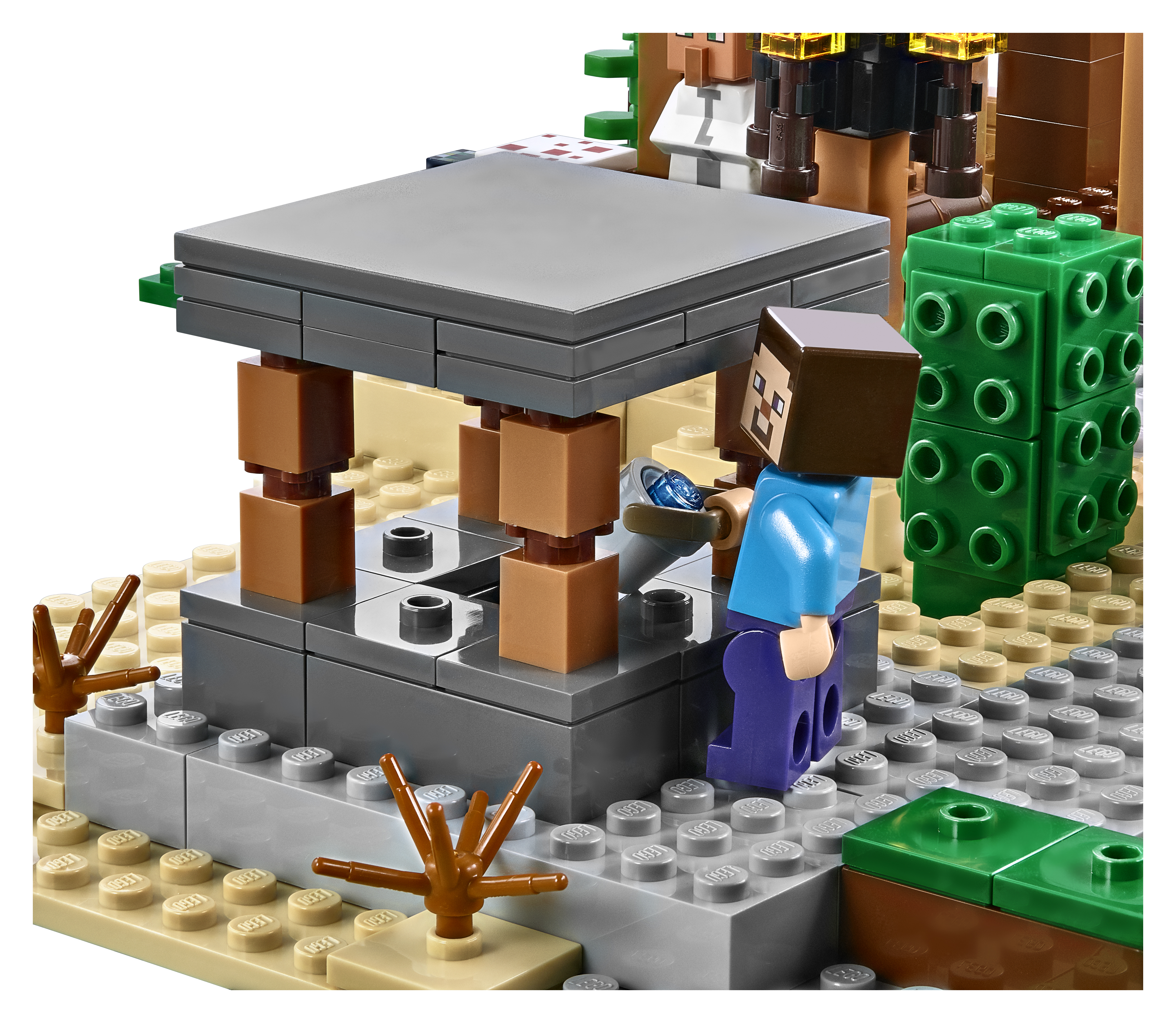 Lego Announces 21128 The Village  The Largest Minecraft Set Yet