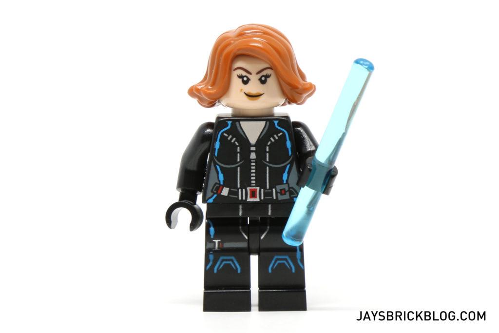 LEGO 76050 Crossbones Hazard Heist - Black Widow Minifigure