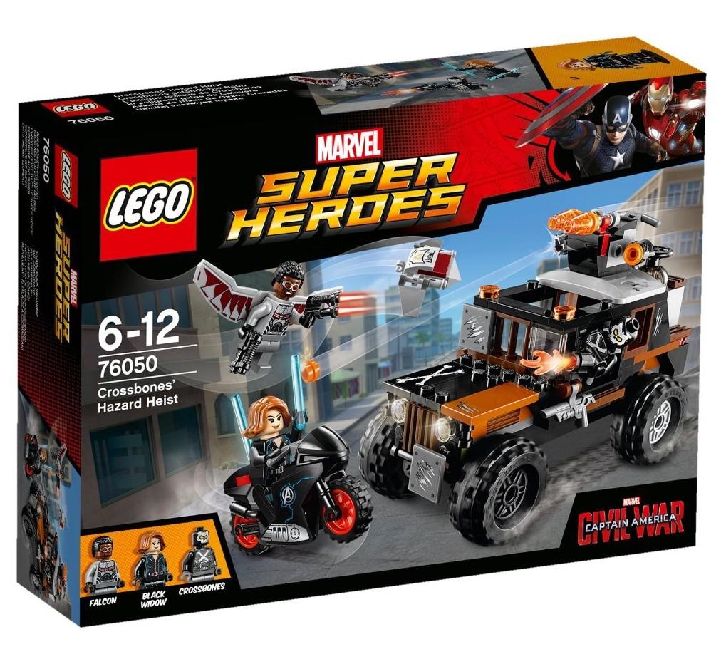 LEGO 76050 Crossbones Hazard Heist - Box