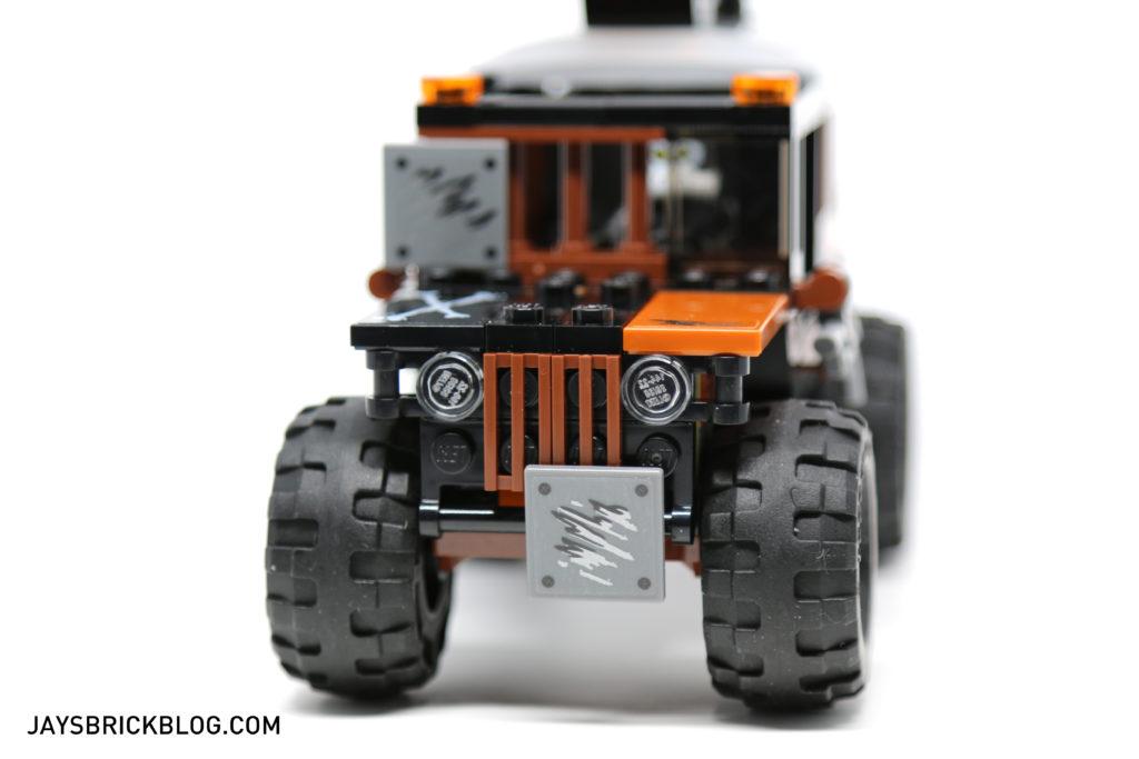 LEGO 76050 Crossbones Hazard Heist - Crossbones Front View