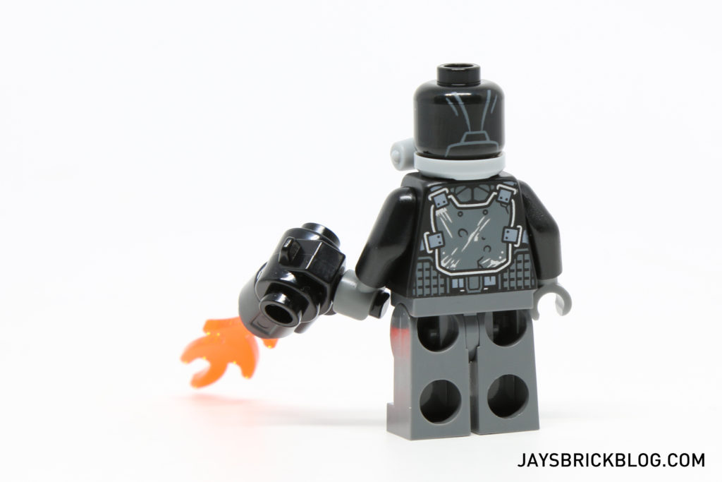 LEGO 76050 Crossbones Hazard Heist - Crossbones Minifigure Back Printing